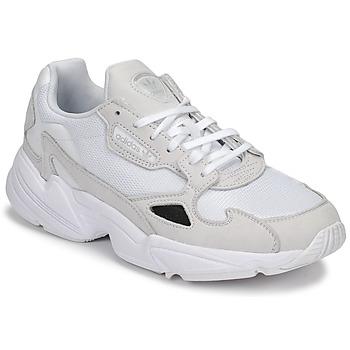 Sko Dame Lave sneakers adidas Originals FALCON W Hvid