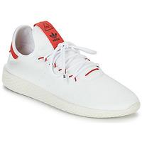 Sko Lave sneakers adidas Originals PW TENNIS HU Hvid / Rød
