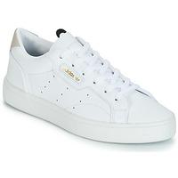 Sko Dame Lave sneakers adidas Originals adidas SLEEK W Hvid