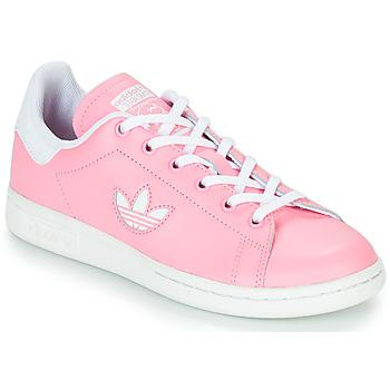 Sko Pige Lave sneakers adidas Originals STAN SMITH J Pink