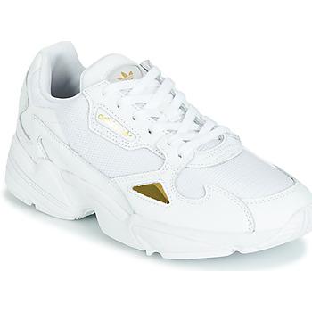 Sko Dame Lave sneakers adidas Originals FALCON W Hvid / Guld