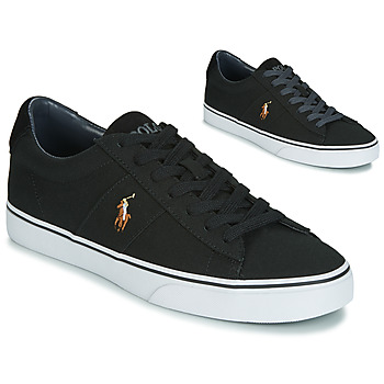 Sko Herre Lave sneakers Polo Ralph Lauren SAYER Sort