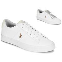 Sko Herre Lave sneakers Polo Ralph Lauren SAYER Hvid
