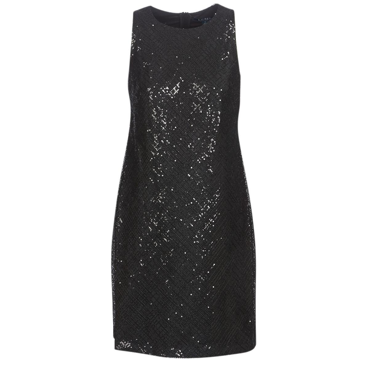 Korte kjoler Lauren Ralph Lauren  SEQUINED SLEEVELESS DRESS