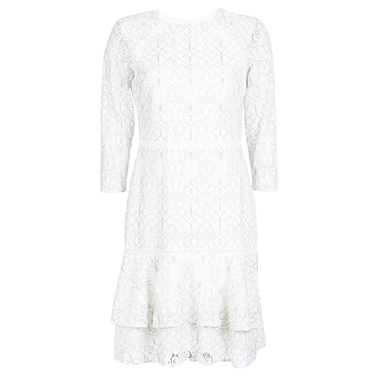Korte kjoler Lauren Ralph Lauren  LONG SLEEVE-LACE DAY DRESS
