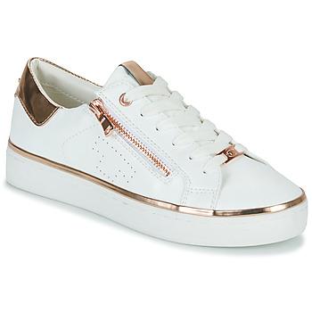 Sko Dame Lave sneakers Tom Tailor 6992603-WHITE Hvid