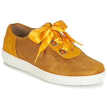 Sko Dame Lave sneakers Casta HUMANA Gul / Guld