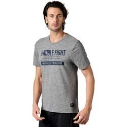 textil Herre T-shirts m. korte ærmer Reebok Sport Combat Noble Fight X Tshirt Grå