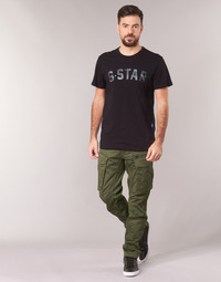 textil Herre Cargo bukser G-Star Raw ROVIC ZIP 3D STRAIGHT TAPERED Kaki