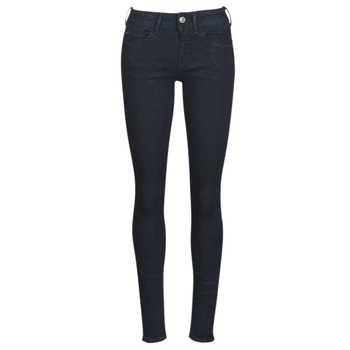 textil Dame Jeans - skinny G-Star Raw LYNN D-MID SUPER SKINNY Blå / Rinsed