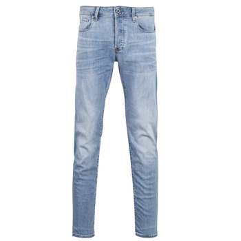 textil Herre Smalle jeans G-Star Raw 3302 SLIM Blå / Indigo / Ældet