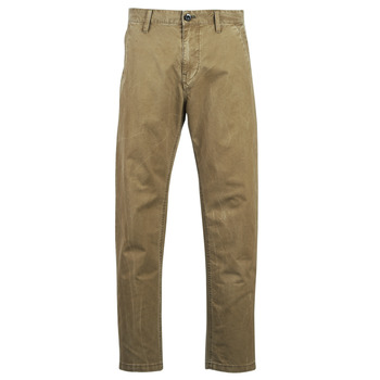 textil Herre Chinos / Gulerodsbukser G-Star Raw BRONSON STRAIGHT TAPERED CHINO Beige