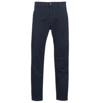 textil Herre Chinos / Gulerodsbukser G-Star Raw BRONSON STRAIGHT TAPERED CHINO Marineblå