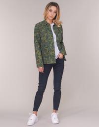 textil Dame Jeans - skinny G-Star Raw LYNN ZIP MID SKINNY ANKLE Blå / Mørk / Ældet / Cobler