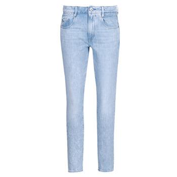 textil Dame Lige jeans G-Star Raw RADAR MID BOYFRIEND TAPERED Blå / Lys / Ældet