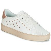 Sko Dame Lave sneakers Esprit Colette Star LU Hvid / Pink / Guld