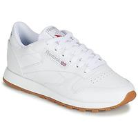 Sko Dame Lave sneakers Reebok Classic CL LTHR Hvid