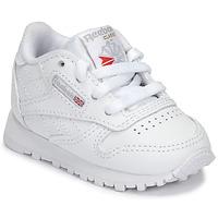 Sko Børn Lave sneakers Reebok Classic CLASSIC LEATHER Hvid