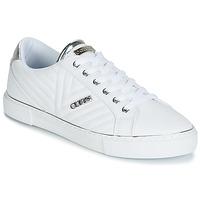 Sko Dame Lave sneakers Guess GROOVIE Hvid