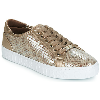 Sko Dame Lave sneakers Guess GRASER Beige