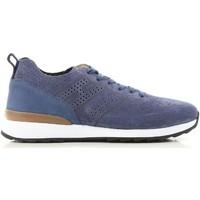 Sko Herre Lave sneakers Hogan HXM2610K200IHHU803 blu
