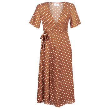 textil Dame Lange kjoler Betty London KEYLA Brun