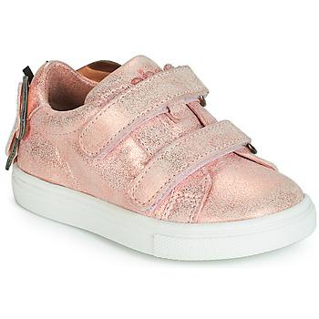 Sko Pige Lave sneakers Acebo's BAMBU Pink