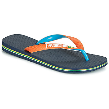 Sko Flip flops Havaianas BRASIL MIX Marineblå / Orange