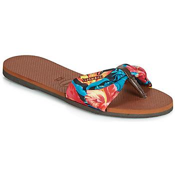Sko Dame Flip flops Havaianas YOU ST TROPEZ Blomstret