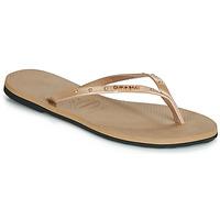 Sko Dame Flip flops Havaianas YOU MAXI Pink / Guld