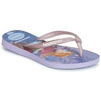 Sko Pige Flip flops Havaianas KIDS SLIM FROZEN Violet