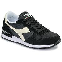 Sko Lave sneakers Diadora CAMARO Sort / Hvid
