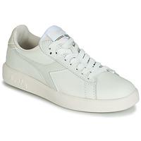 Sko Dame Lave sneakers Diadora GAME WIDE Beige / Grå