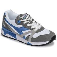 Sko Herre Lave sneakers Diadora N 9000 III Hvid / Grå / Turkis