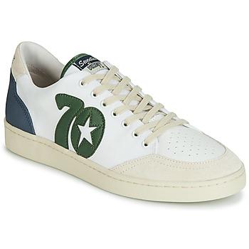Sko Herre Lave sneakers Kost SEVENTIES 14 Beige / Grøn / Blå