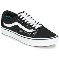 Sko Lave sneakers Vans COMFYCUSH OLD SKOOL Sort / Hvid