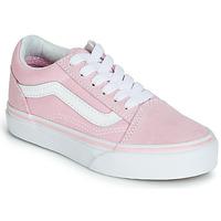 Sko Pige Lave sneakers Vans OLD SKOOL Pink