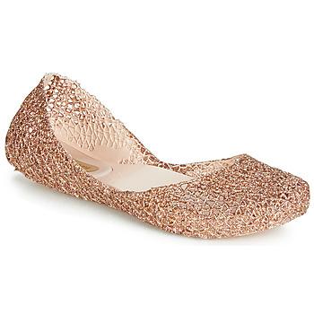 Sko Dame Ballerinaer Melissa CAMPANA PAPEL VII Guld