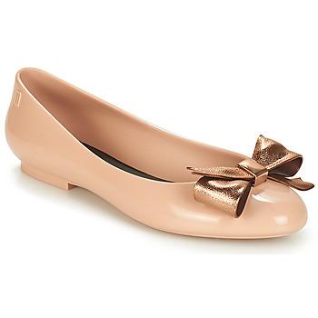 Sko Dame Ballerinaer Melissa DOLL III Beige / Bronze