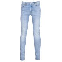 textil Herre Smalle jeans Jack & Jones JJILIAM Blå