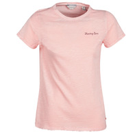 textil Dame T-shirts m. korte ærmer Maison Scotch SS T-SHIRT Pink