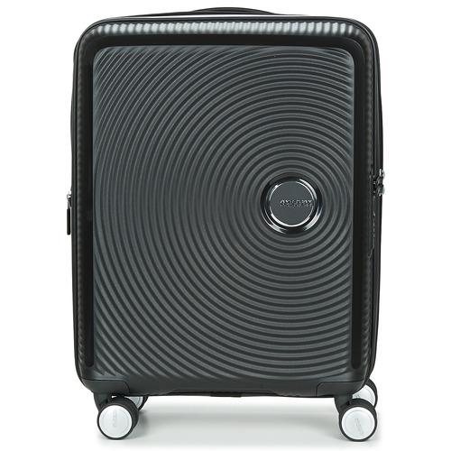 Tasker Hardcase kufferter American Tourister SOUNDBOX 55CM 4R Sort
