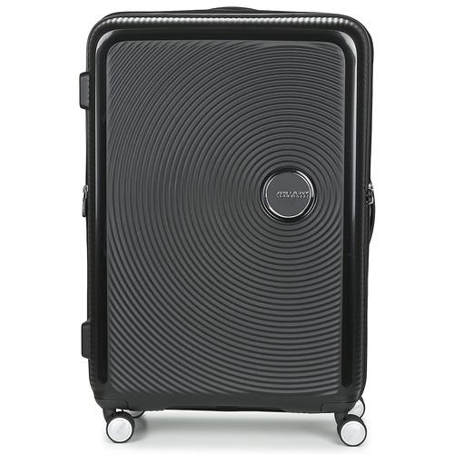 Tasker Hardcase kufferter American Tourister SOUNDBOX 77CM 4R Sort