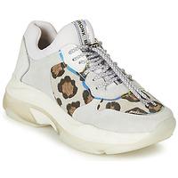 Sko Dame Lave sneakers Bronx BAISLEY Hvid / Leopard