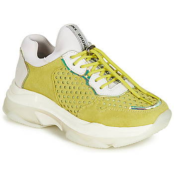 Sko Dame Lave sneakers Bronx BAISLEY Gul