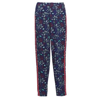 textil Dame Løstsiddende bukser / Haremsbukser Kaporal BABY Marineblå / Flerfarvet