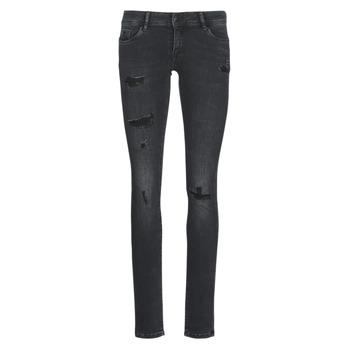 textil Dame Smalle jeans Kaporal LOKA Sort