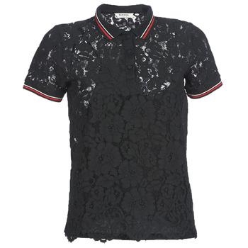textil Dame Polo-t-shirts m. korte ærmer Kaporal BRIKS Sort