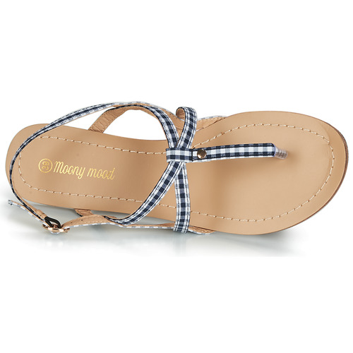 Moony Mood JEKERINE Blå - Gratis fragt- Sko sandaler Dame 111,00