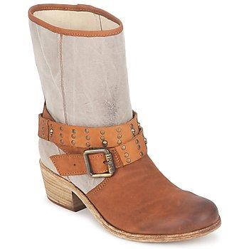 Sko Dame Chikke støvler Ikks INES Brun / Muldvarpegrå